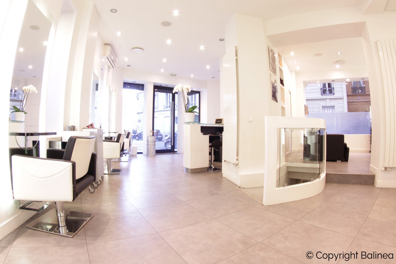 Salon coiffeur Paris Roger Hamoui