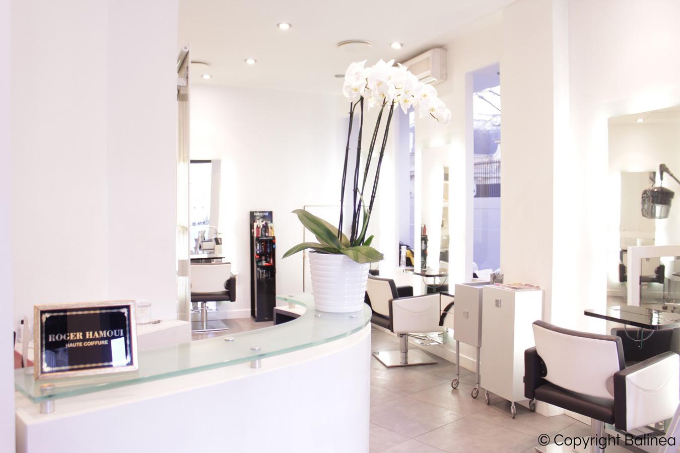 Roger Hamoui - salon de coiffure haut de gamme à Paris 16